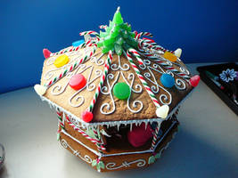 Gingerbread Carosel by DavidArsenault