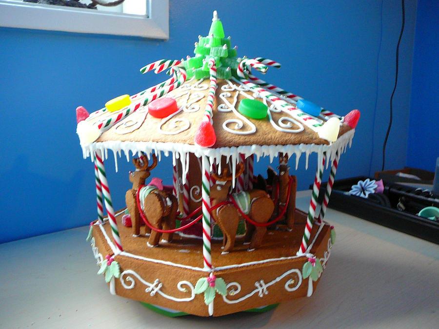 Gingerbread Carosel 2