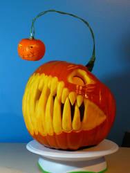 Angler Pumpkin by DavidArsenault
