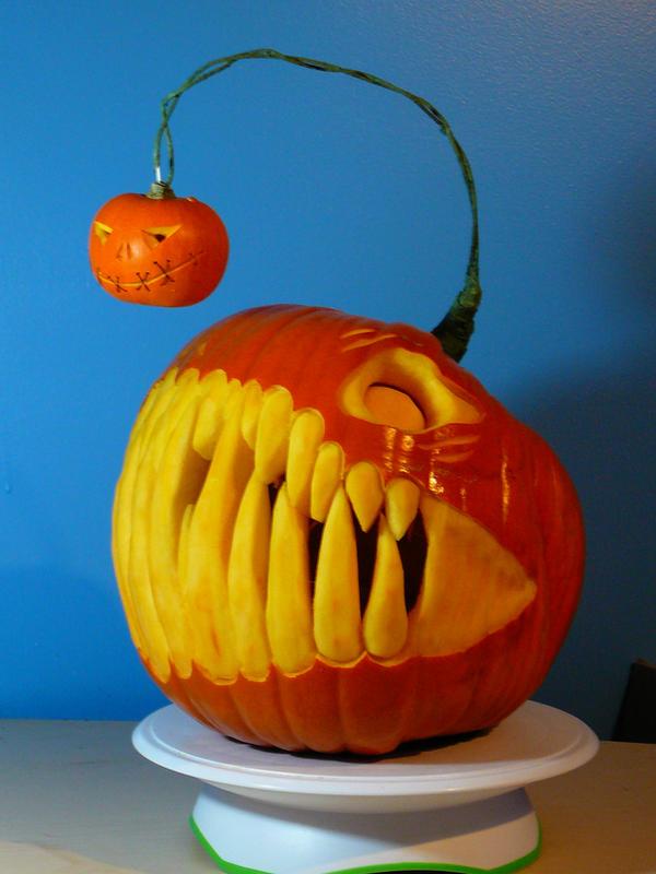 Geek art gallery quick pic angeler pumpkin