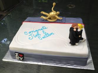 Rockefeller Center Cake by DavidArsenault
