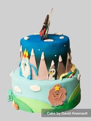 Adventure Time Cake 2 by DavidArsenault