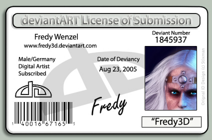 License ID by Fredy3D