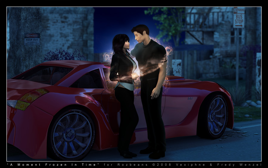Commission: Moment Scene by Fredy3D