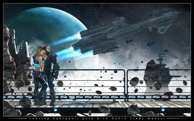 Leaving Spaceport Zeta Nine