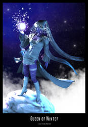 Queen of Winter by Fredy3D