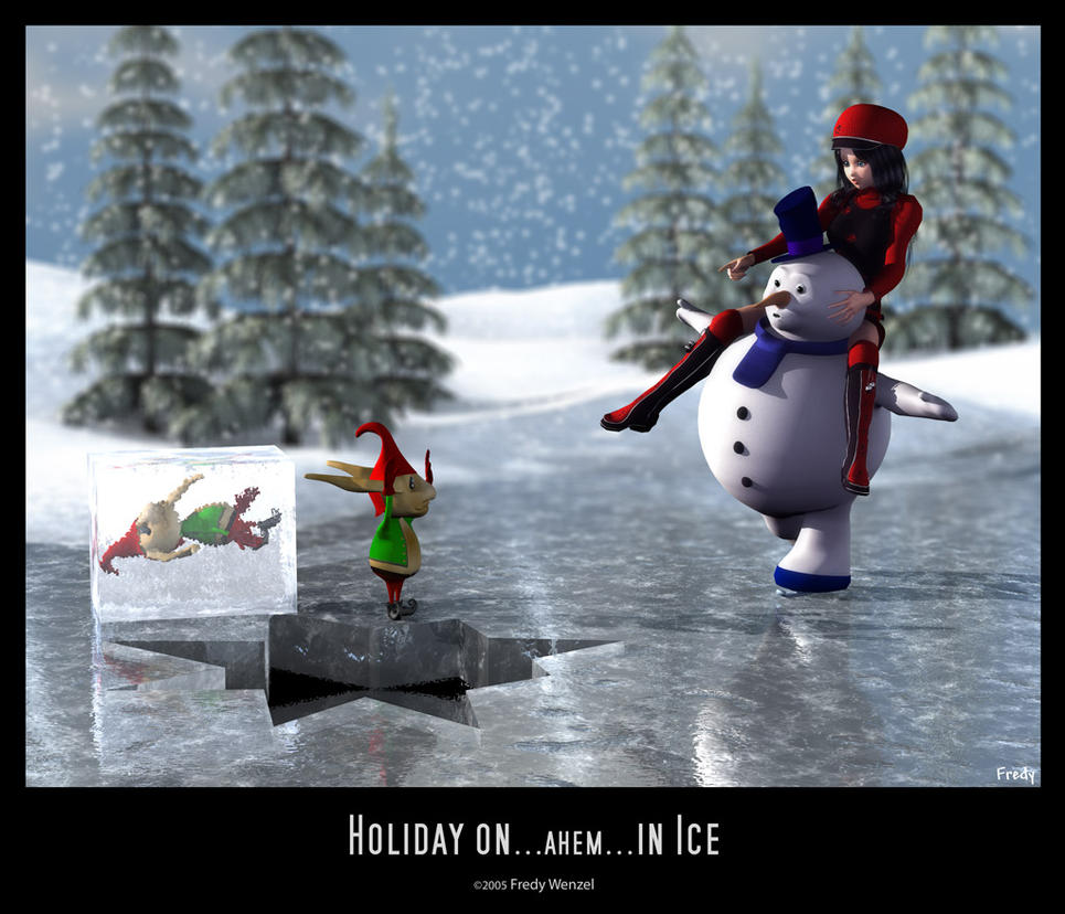 Holiday on...ahem...in Ice by Fredy3D