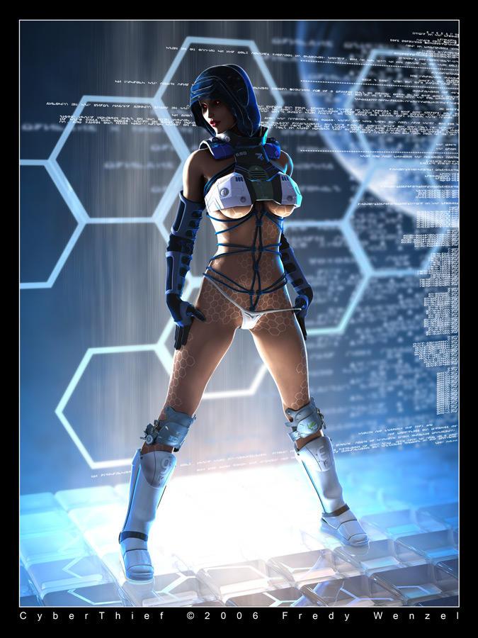 CyberThief by Fredy3D