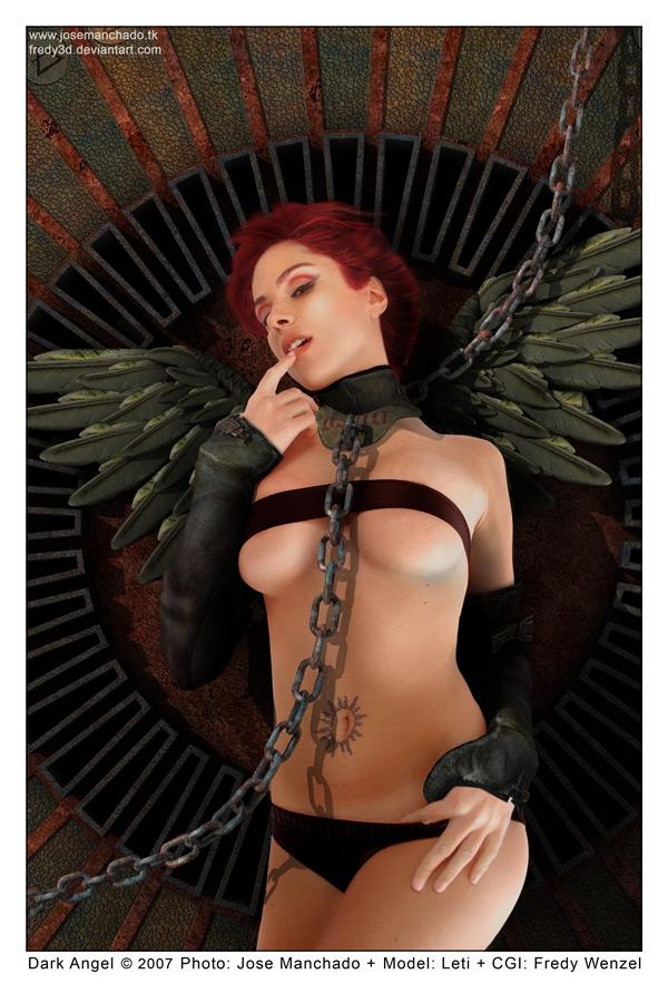 Collaboration: Dark Angel by Fredy3D