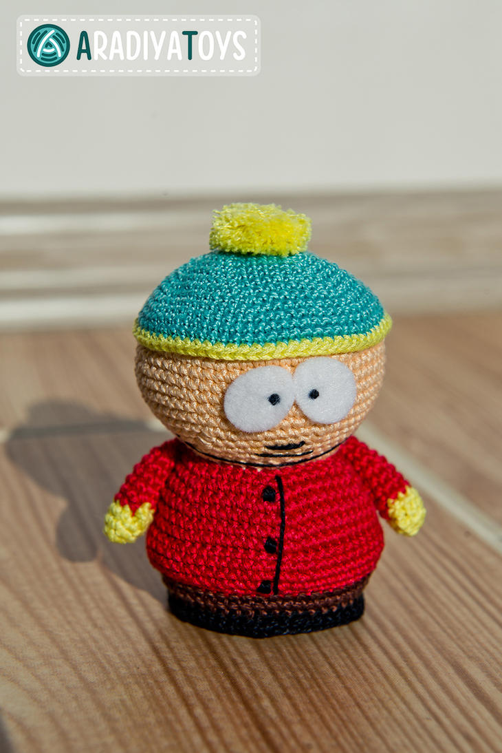 Amigurumi Cartman : Cartman from South Park, amigurumi toy by Aradiya9 on ...