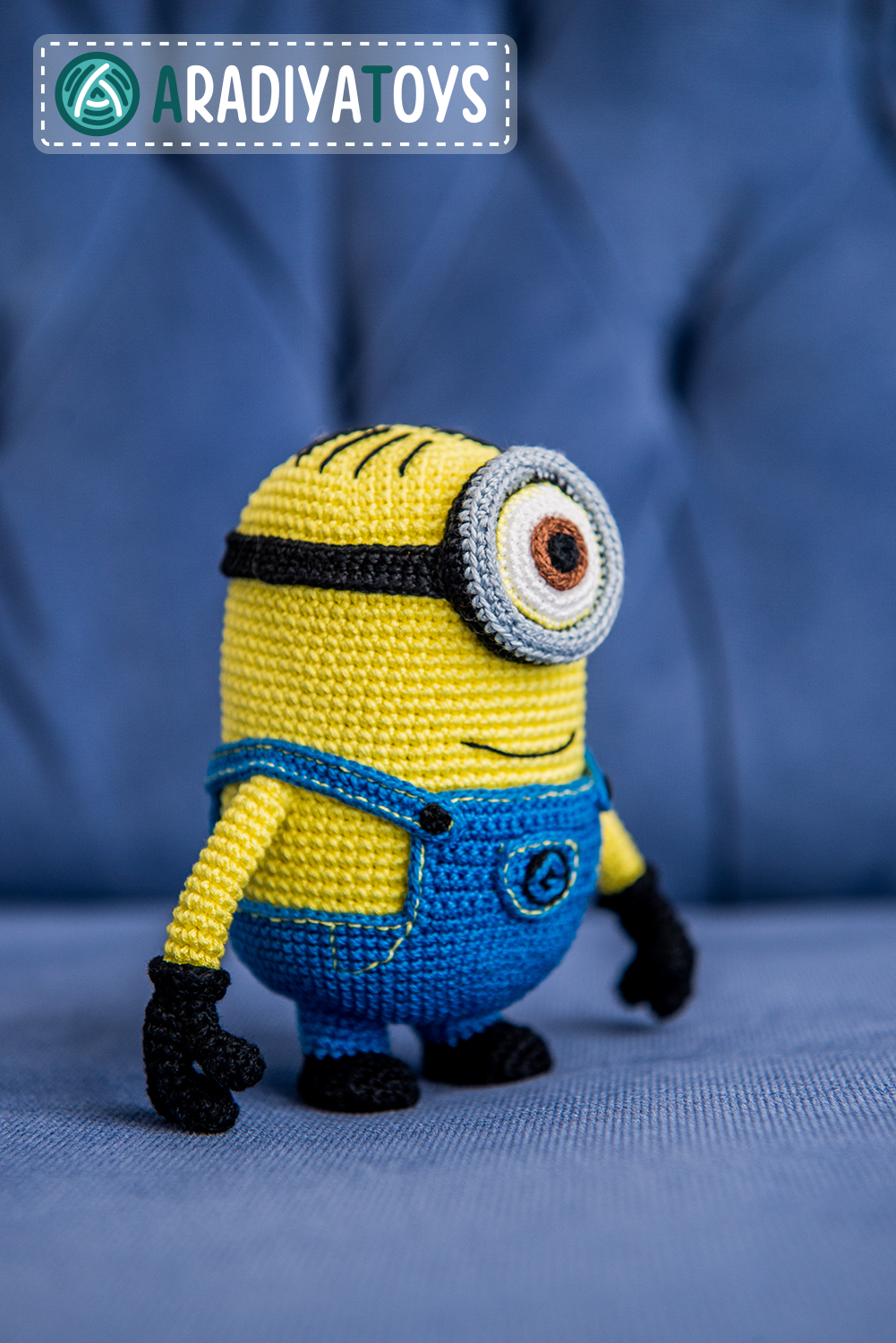 Amigurumi Free Patterns Minions : Minion from Despicable Me, amigurumi toy by AradiyaToys ...