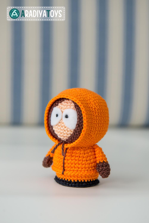 Amigurumi Cartman : Kenny McCormick from South Park, amigurumi toy by ...