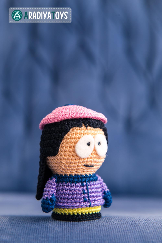 Amigurumi Cartman : Wendy Testaburger from South Park, amigurumi toy by ...