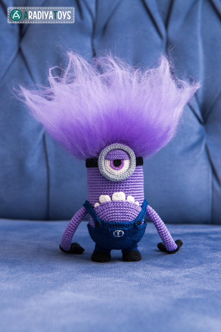 Amigurumi Fan Club Minion : Evil Minion from Despicable Me, amigurumi toy by ...