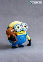 Minion Bob and Bear Tim from 'Minions', pattern by AradiyaToys