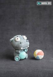 Hippo Bruno from 'AradiyaToys Design' collection by AradiyaToys