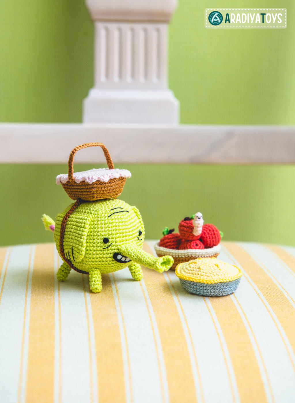 Tree Trunks from Adventure Time, amigurumi by ...