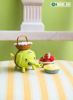 Tree Trunks from 'Adventure Time', amigurumi