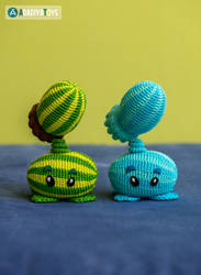 Melon-pult, Winter Melon from 'Plants vs. Zombies'