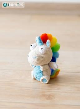 Unicorn Corki from 'AradiyaToys Design' collection