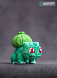 Bulbasaur from 'Pokemon', crochet pattern