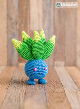 Oddish from 'Pokemon' by AradiyaToys