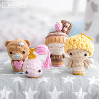 Valentine Minis set by AradiyaToys by AradiyaToys