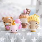 Valentine Minis set by AradiyaToys