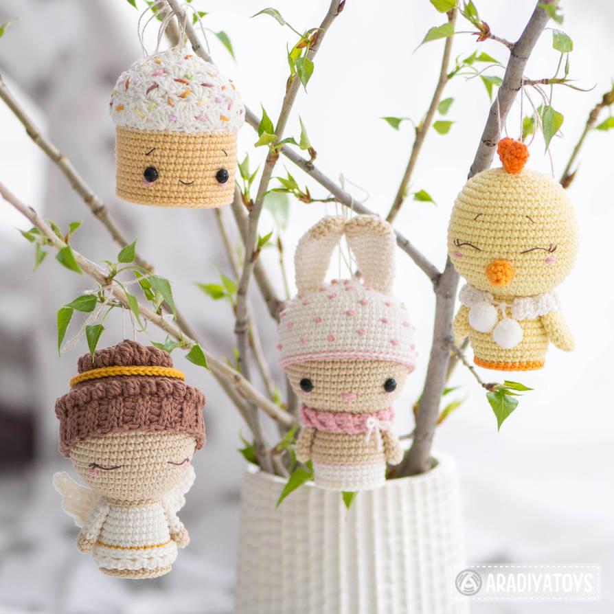 Easter Minis set by AradiyaToys by AradiyaToys