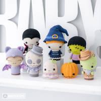 'Halloween Minis' set 1 and 2 by AradiyaToys