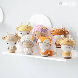 My Mini Friendy dolls! Many more to be added later by AradiyaToys