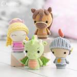 Princess, Knight, Horse and Dragon! by AradiyaToys