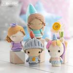 Princess in Purple, Fairy, Knight and Unicorn!