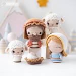 Nativity Minis by AradiyaToys (Olka Novytska) by AradiyaToys