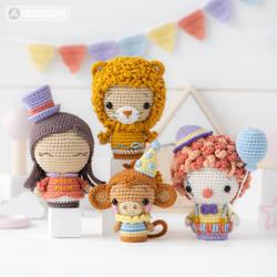 Circus Minis by AradiyaToys (Olka Novytska)