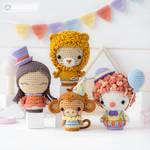 Circus Minis by AradiyaToys (Olka Novytska) by AradiyaToys