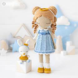 Friendy Leah with Tiny Bunny by AradiyaToys