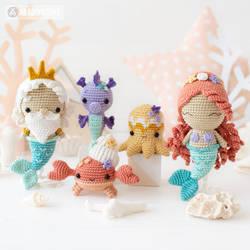 Kawaii Ocean Minis by AradiyaToys