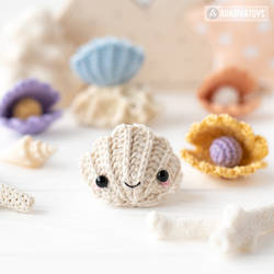Baby Seashell FREE crochet pattern by AradiyaToys