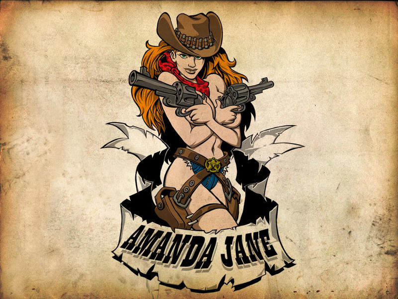 Cowgirl 600 x 800 by Halfax