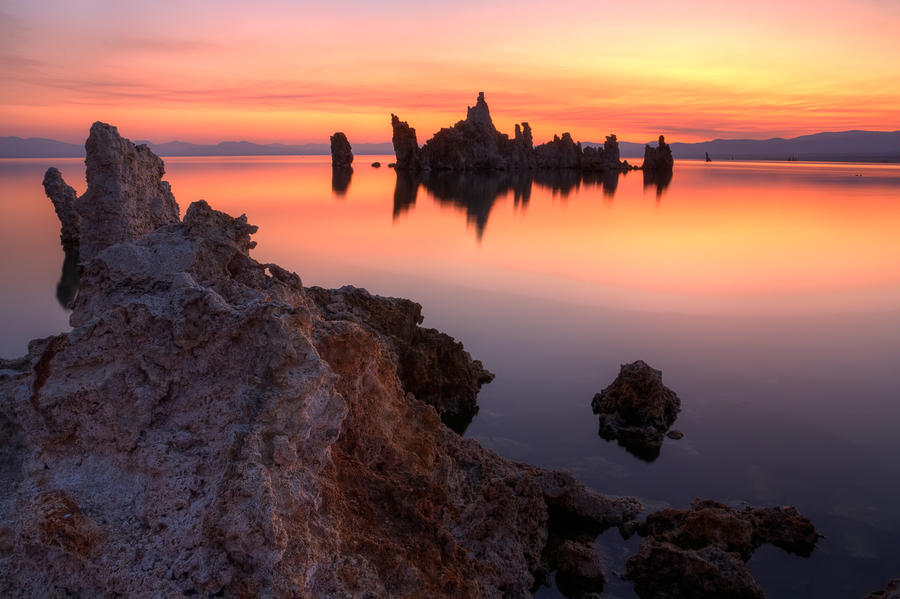 Tufa Sunrise by StevenDavisPhoto