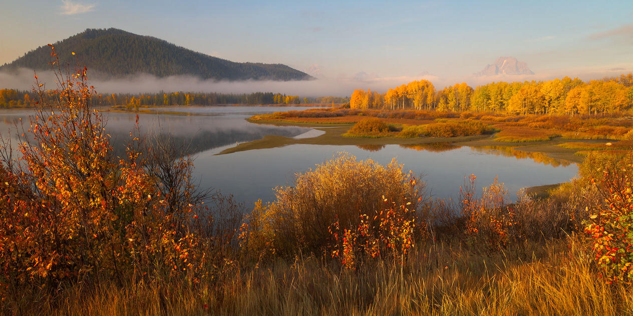 Oxbow Sunrise by StevenDavisPhoto