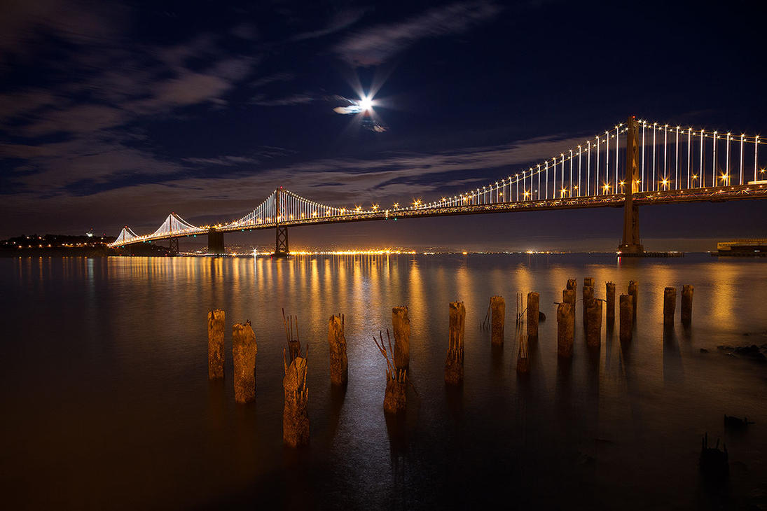 The Bay Lights by StevenDavisPhoto
