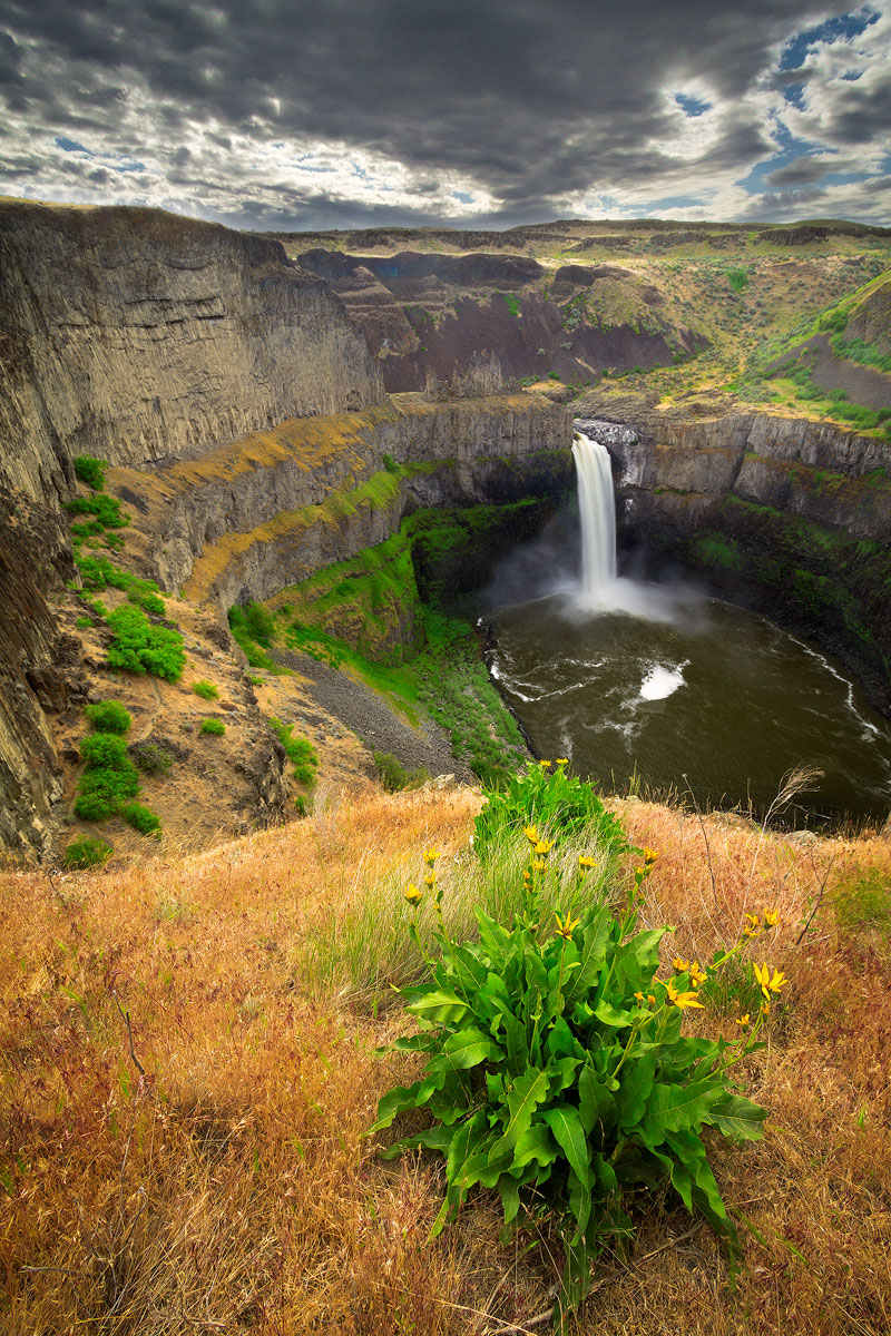 Palouse Falls by StevenDavisPhoto