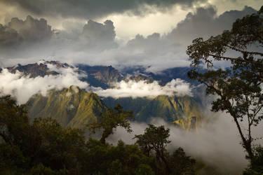 Andean Sunset by StevenDavisPhoto
