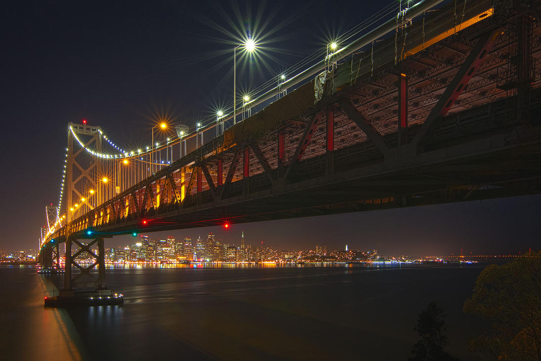 City Under the Bridge by StevenDavisPhoto