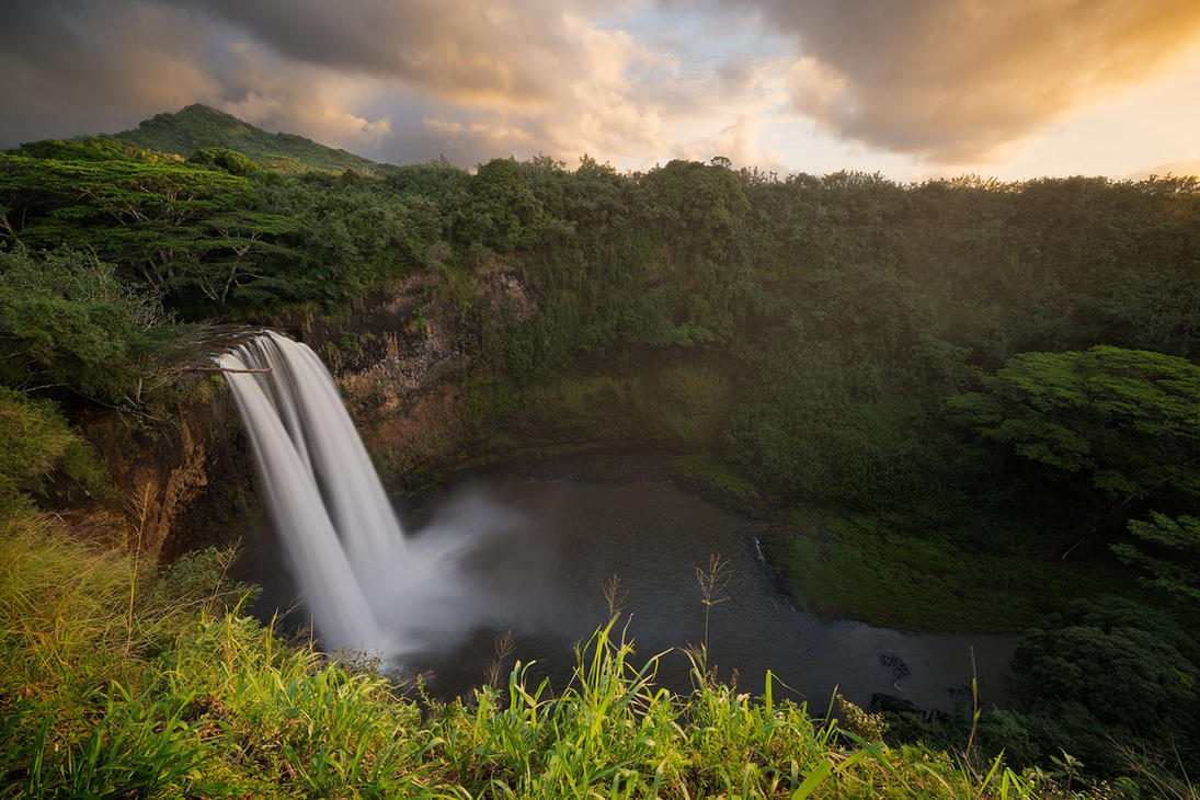 Wailua Sunrise by StevenDavisPhoto