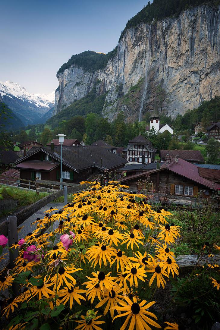 Lauterbrunnen, Switzerland by StevenDavisPhoto