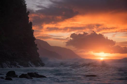 Ke`e Beach, Kauai, Hawaii
