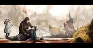 Twilight of the Thunder God by kunoichi-san